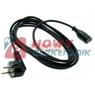Kabel zasil. PC 3m komputerowy przył. SN-32 3m (PL)