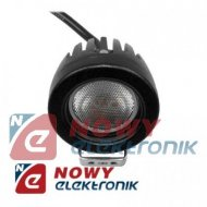 Lampa LED halogen 1x10W 9-60V IP68 CREE reflektor led car