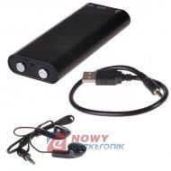 Dyktafon Cyfrowy 8GB AR-650   (*) mini Pendrive