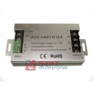 Wzmacniacz LED RGB 30A do taśm i modułów LED,