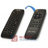 Klawiatura + pilot 2,4GHz BLOW czarna radiowa 2,4GHz  USB bezp.