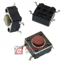 Mikroswitch 6x6mm 4.3/0.8mm SMD TACT-D60H43I160 SMT