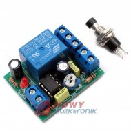 Zestaw AVT1689C przekaźnik czasu Timer czasowy na 12VDC