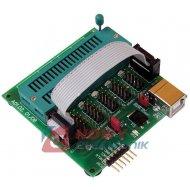Zestaw AVT1614C Uniwers.adapter dla programatora PIC xEP04/11