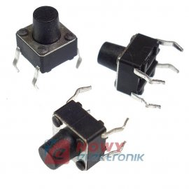 Mikroswitch 6x6mm 7/3,5mm A06