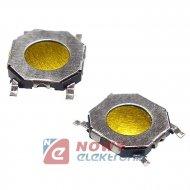 Mikroswitch 5.2x5.2mm 0.8/0 SMD wysokość 0,8mm  TD-14XA