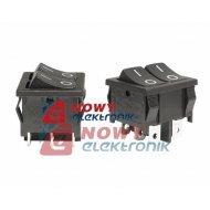 Przełącznik MRS2102(A) 6pin/2poz podwójny stabilny off-on
