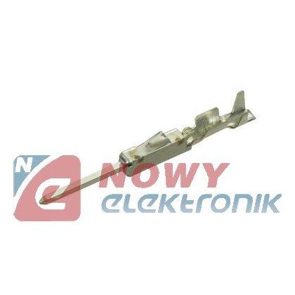 Styk PIN 1-928918-1 CONTACT     24-22 AWG, zaciskany