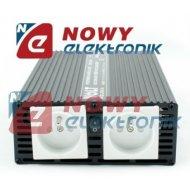 Przetwornica 12V/230V 800W SIN 800/1000W SINUS