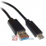 Kabel USB-Typ C USB 3.0 HQ 2m 3A NEPOWER TYPE-C ładowa. i przesył danych