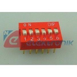 Przełącznik DIP SWITCH 4 slide