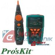 Tester sieci LAN MT-7028 Proskit miernik z szukaczem par przewodów