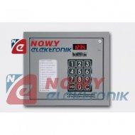 Panel CP-2502NP Srebrny--CP-2503 cyfrowy system domofonowy (z listą lok.)