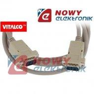 Kabel do mon. HDB15M/M 1.5-1.8m SVGA
