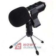 Mikrofon pojemnościowy NC-1 USB z uchwytem stereo,studyjny 30Hz-18Khz