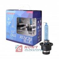 Palnik Xenon D4S 6500K Powertec Xenon Blue 2szt zestaw