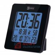 Budzik Cyfrowy DCF E0113 zegar,termometr,data,