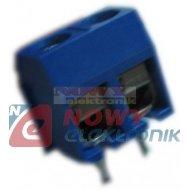 Listwa ARK500-2LC/BL Listwa 2 po r-5 h-10 niebieska  --23912