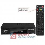 Tuner TV naz. LTC HDT01 DVB-T-2 z pilotem programowalnym