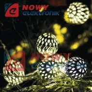 Lampki ozd. SILVERBALL 3M 20LDL LED IP20 choinkowe christmas