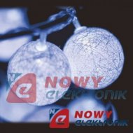 Lampki ozdobne WOOL 3M 16LED DL IP20 choinkowe christmas