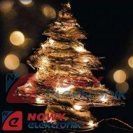 Lampki ozdobne TREE RATTAN30LED IP20 drzewko christmas