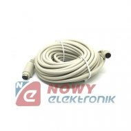 Kabel PS2 wt./gn. 10m MD6M-MD6F 10,0m