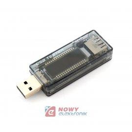 Miernik napięcia i prądu z USB AP