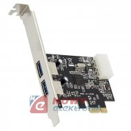 Karta PCI Express /2x USB3.0  kontroler
