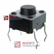 Mikroswitch TACT-S60H50B160 h-5mm, 6,0x6,0mm, czarny
