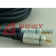Kabel jack 3,5 mono-wt.RCA 1,5m digital/Vitalco blister
