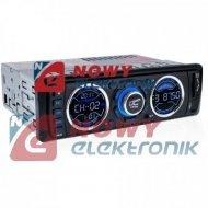 Radio samoch.LTC V-8600U USB/SD MP3/SD/USB/AUX MOSFET 4x45W