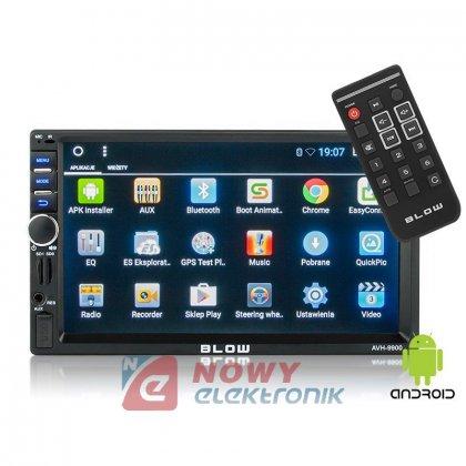 Radio samoch.BLOW AVH-9900 GPS 2DIN Android AUX Bluetooth/PILOT