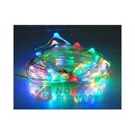 Lampki choin.100LED 10m drut SMD 230V RGB