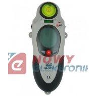 Detektor ind.(metal,drewno,nap) wykrywacz kabli, rur LA-1010 3w1