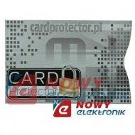 Etui ochronne karty zbliżeniowe antykradzieżowe Ochraniacz RFID i inne