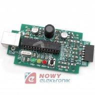 Zestaw AVT5279B Programator MIC debuger mikrokontrolerów xEP02/11