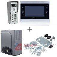 Zestaw VIDOS Napęd bramy+video AB600(napęd,centr,2pil,fotok.)+M901+S50D