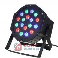 Efekt Kolorofon 18 RGB LED lampa dyskotekowa