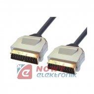 Kabel SCART-SCART 3M 21P digital