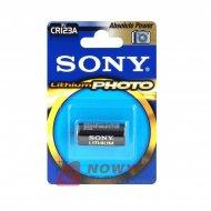 Bateria CR123A SONY FOTO 3.0V