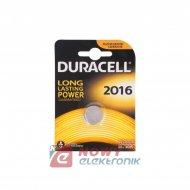 Bateria CR2016 DURACELL
