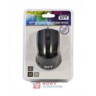 Mysz optyczna NTT-MUS-3B-01 czarna