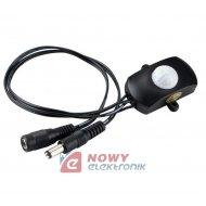 Czujnik ruchu 5-24V 5A USB regul Do lampek, went. fotoelektryczny