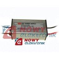 Zasilacz ZI LED 12V/1.0A 12W Impulsowy aluminium