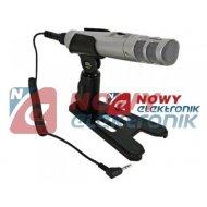 Mikrofon pojemnościowy EM 278 stereo,studyjny  YOGA HQPOWER