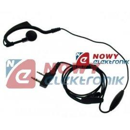 Mikrofon + słuch. do UV-5R/TK928 /XTR466 m.in.do BAOFENG mikrosłuchawka