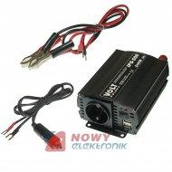 Przetwornica 24V/230V 350/500W IPS-500 2xUSB