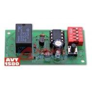 Zestaw AVT1580 Wyłącznik świt.
