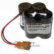 Bateria 6V 2400mAh BR2/3AGCT4 bateria litowa w pakiecie
